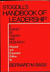 Handbook of Leadership: A Survey of Theory and Research