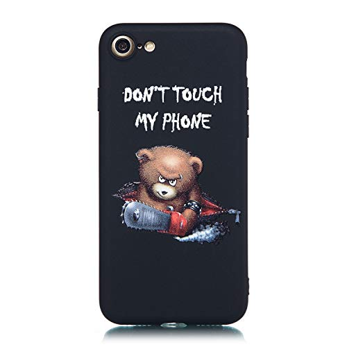 i-Rutsch Flexible Handyhülle 3D Flower Animal Cartoon Kreative Soft Licht Gel Gomma TPU Silikon Schutz Handy Hülle Case Tasche Etui Bumper für iPhone 6S iPhone 6 4,7