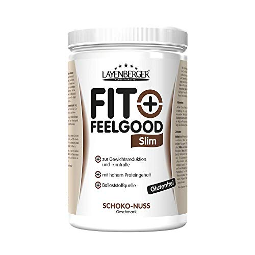 Layenberger Fit+Feelgood Slim Mahlzeitersatz Schoko-Nuss, 1er Pack (1 x 430 g)