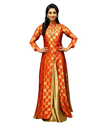 great indian sale women's Gown_lehenga for women partywear_readymade new arrival indo western...