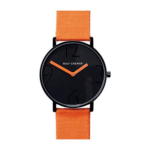 Rolf Cremer Flat44 504806 Unisex Armbanduhr Orange