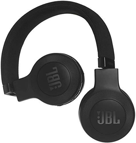 JBL E45BT On-Ear Bluetooth Kopfhörer, Stoff-Kopfbügel – Schwarz - 3