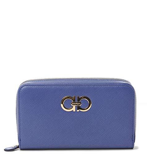 Salvatore Ferragamo Luxury Fashion Donna 599824 Blu Portafoglio | Autunno Inverno 19