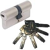 ABUS EC550 dubbele profielcilinder lengte 35/40 mm met 6 sleutels