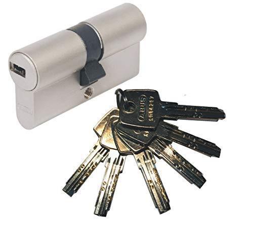 0.875 (ABUS EC550 Profil-Doppelzylinder Länge 35/40mm mit 6 Schlüssel)