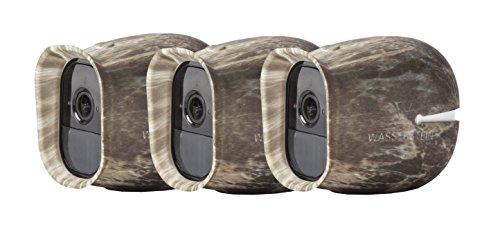 Silikon Skins für Arlo Pro Smart Security - 100% wire-free Kameras von Wasserstein (Arlo Pro - Sunroof, 3 x Camouflage) Test