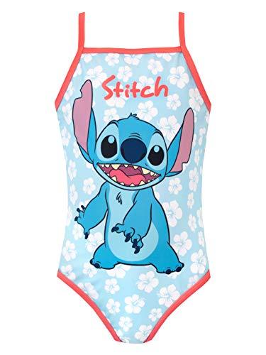 Disney Bañador para Niña Lilo & Stitch Azul 10-11 Años