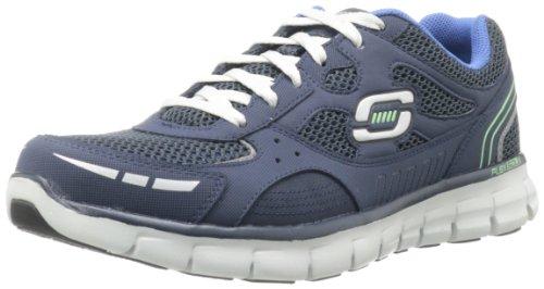 Skechers - Synergyover Haul, Sneaker Uomo Blu (NVGY)