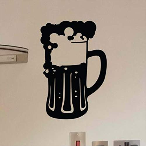 wall stickers and murals Beer mug Beer foam to decorate kitchen bar