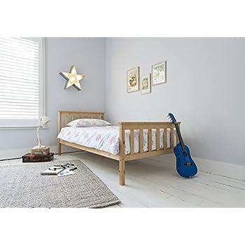 single bed in pine 3ft single bed wooden frame pine dorset - Single Bed Frame