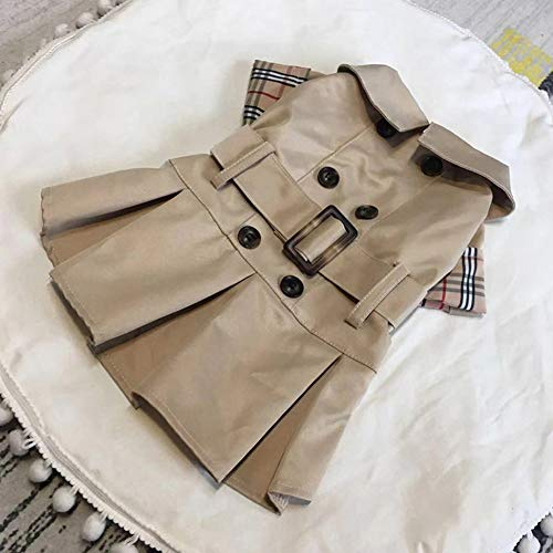 ZZQ Haustier Hund Graben Mode Hündchen Kleidung für kleine Hunde Yorkshire Shih Tzu Kleidung Anzug Haustiere Hund Produkte,XL