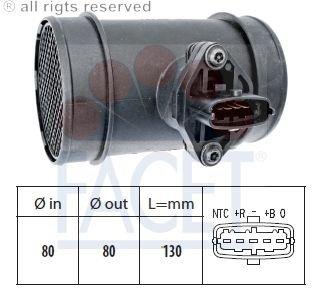 Preisvergleich Produktbild Facet 10.1445 Luftmassenmesser
