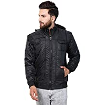 Ico Blue Stor Full Sleeve Solid Men's Quilted Jacket