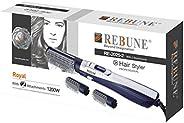 REBUNE Hair Styler 3 in 1 Hair Style 1200 Watts, Blue, RE-2025-2