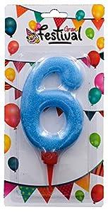Gran Festival- vela de cumpleaños, Color surtido (1)