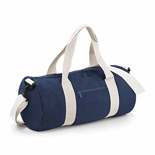 Bag-base - sac de voyage léger en toile - BG140 (Bleu marine / Blanc)