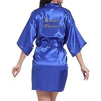 GODGETS Kimono Mujer Batas Cortos Lenceria de Aspecto Brillante