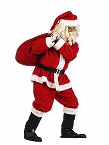 Limit Sport - Disfraz de Papá Noel para hombre (MA528)