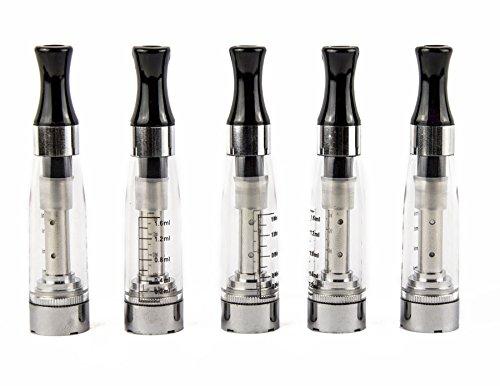 5er Pack - CE5 Atomizer für E-Zigaretten - Original Nox24 - Neueste Technik - Super Dampf - Lange Haltbarkeit - ohne Nikotin - Klar