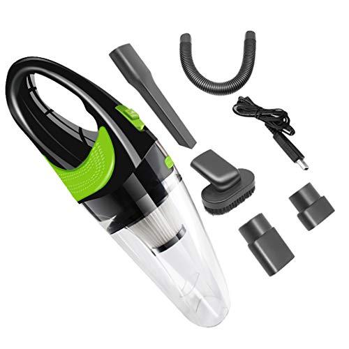 Jamicy® Akku-Lithium-Handstaubsauger, Auto Staubsauger Handstaubsauger für Auto Mini Staubsauger für Auto 120W, Nass & Trocken Staubsauger (Silber)