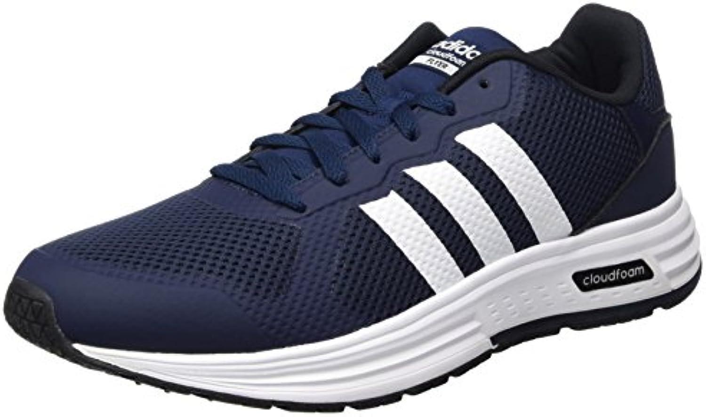 adidas CLOUDFOAM FLYER - Zapatillas de deporte para Hombre, Azul - (MARUNI/FTWBLA/NEGBAS) 45 1/3