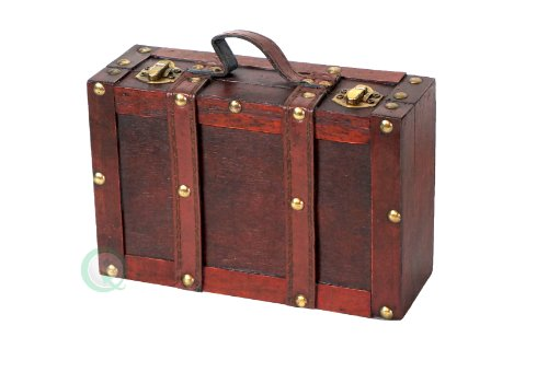 vintiquewise-old-fashioned-suitcase-with-straps-antique-cherry-small