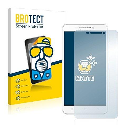 2X BROTECT Matt Displayschutz Schutzfolie für Lenovo A5000 (matt - entspiegelt, Kratzfest, schmutzabweisend)