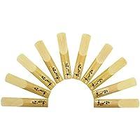 10pcs Accesorios de Instrumentos de Viento bB Cañas de Clarinete 2.5