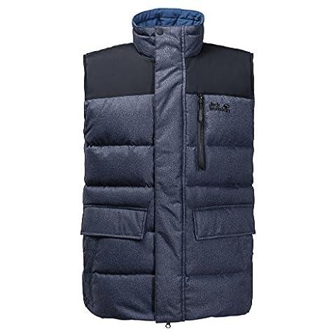 Jack Wolfskin Baffin Bay Vest Men, Night Blue, Small