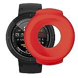 Gaddrt Uhr Schutzhülle, Weiche TPU-Schutzhülle aus Silikon für Huami Amazfit Verge Smart Watch (rot)