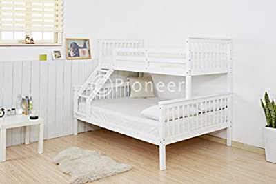 Pioneer Triple Bunk Bed Kids Beds Adults Beds In White Bunk Bed For Kids