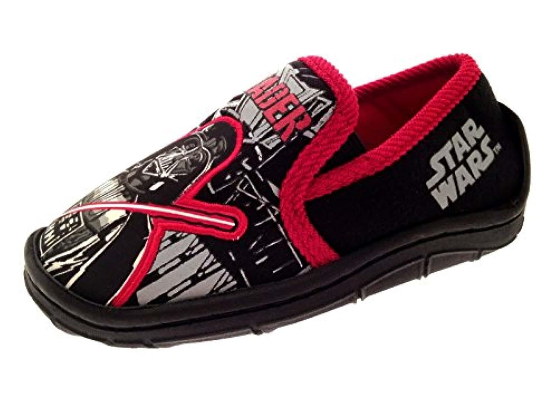 Disney Boys Kids Star Wars Darth Vader Slippers Shoes Size UK 7