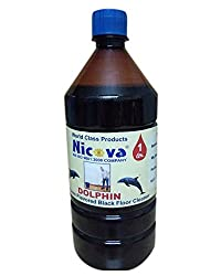 Nicova Dolphin Black Floor Cleaner Indroduces Flavored (1 Ltr)