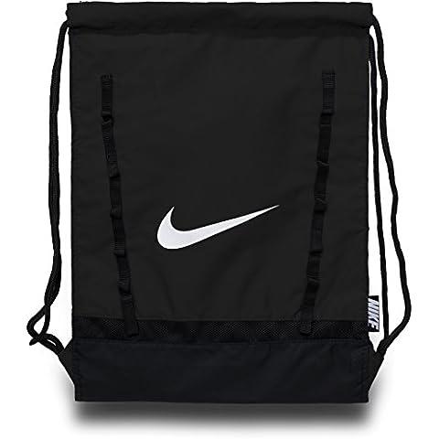 Nike Brasilia 7 Gymsack - Mochila para hombre, color negro, talla única