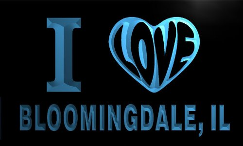 v53288-b-i-love-bloomingdale-il-illinois-city-limit-neon-light-sign