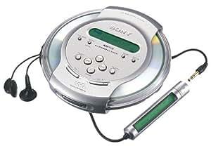 sony d cj01 tragbarer mp3 cd player silber transparent. Black Bedroom Furniture Sets. Home Design Ideas