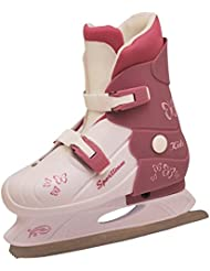 sporteam Girl 's Kiddy Iceskate, niña, Kiddy, White/Violet
