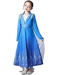 URAQT Disfraz Elsa Frozen, 100CM