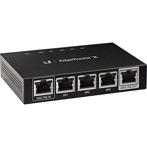 Ubiquiti Edgerouter X - Router - Desktop - Black (ER-X) at amazon