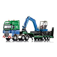 AOTE-D Cars Trucks Trucks Construction Trucks Excavators Transporters 1:50 Models Alloy Toys Boys Girls Gifts