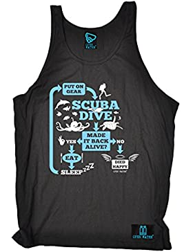OPEN WATER Camiseta de Tirantes - Sin Mangas - Para Hombre