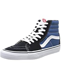 Vans Sk8-hi Classic Suede/Canvas, Baskets Hautes Mixte Adulte