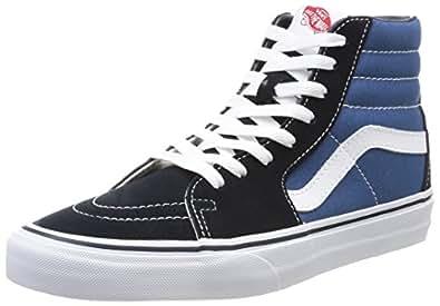 Vans Herren U SK8-HI High-Top Sneaker,Blau (Navy), 34.5 EU