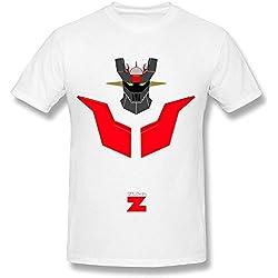 Camiseta Hombre Mazinger Z mangas cortas Blanca