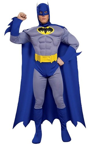 BATMAN ~ The Brave & The Bold (Muscle Chest) - Adult Costume Man: L (42-44