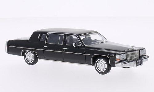 cadillac-fleetwood-formal-limousine-schwarz-matt-schwarz-1980-modellauto-fertigmodell-neo-143