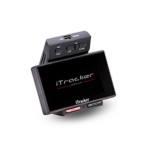 iTracker Stealthcam II Duale Autokamera mit Heckkamera Full HD Dashcam Dash-cam