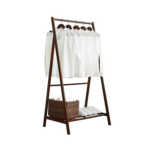 dshu Zuhause/Möbel/Wohnzimmer Dekoration KleiderständerBambus Wäscheständer mit seitlichen Haken...