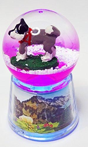Boule Husky lumineuse LED - Rose