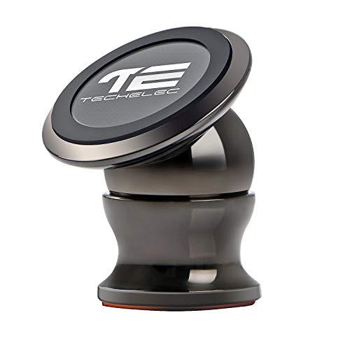 TechElec Auto Handyhalterung KFZ Magnet Halter, 360 Grad Drehbare Klebrige Handy Halterung/Mount für Galaxy S7, Note 5 und jedes andere Smartphone oder GPS Gps Magnet Mount Gps